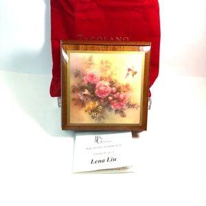 Ercolano Music Box made in Italy, Lena Liu art